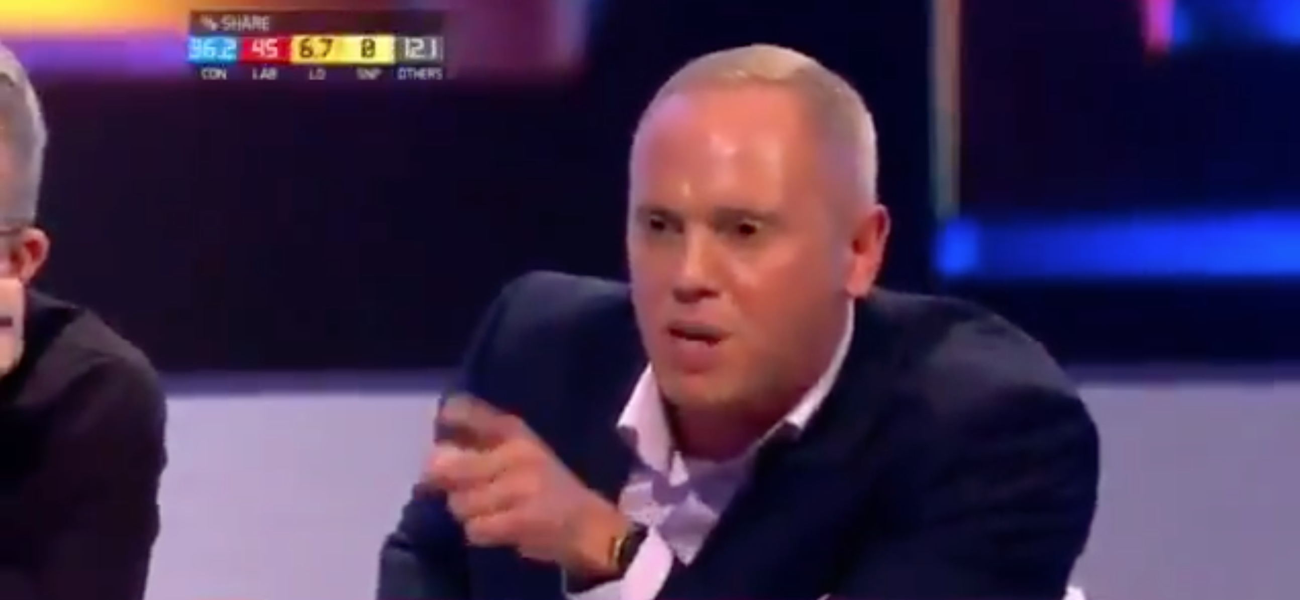 TV Judge Robert Rinder was also upset with the comments (Picture: Channel 4)