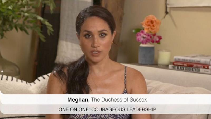 Duchess Meghan cautions against social media users becoming addicts