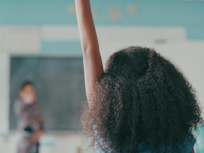 The latest DfE guidance for PSHE programmes states that 'schools should not use resources produced by organisations that take extreme political stances on matters' (Getty Images)