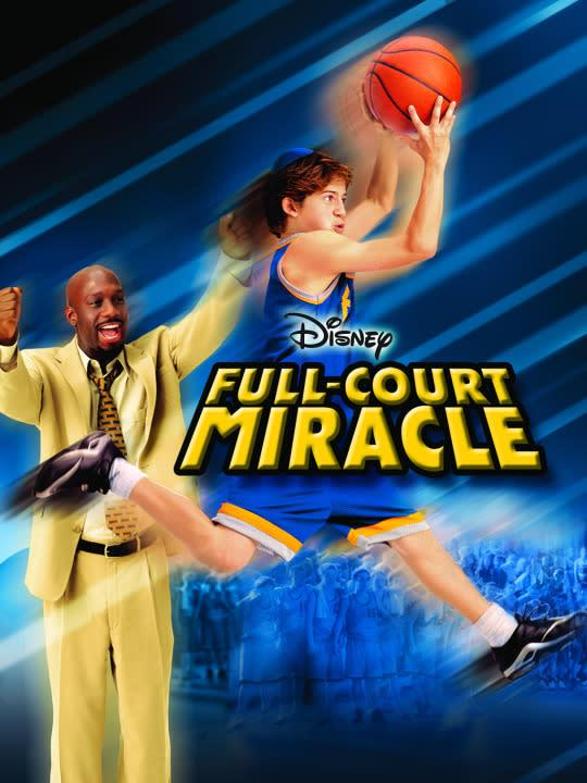 <p>Based on the true story of basketball coach Lamont Carr, this one's about an injured basketball star who becomes head coach of a struggling team. It's every sports movie ever!<br><br><i>(Credit: Disney Channel)</i> </p>