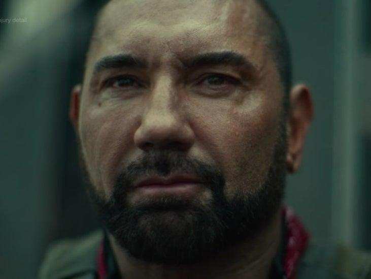 Dave Bautista in Zack Snyder's genre-bending 'Army of the dead' (Netflix)