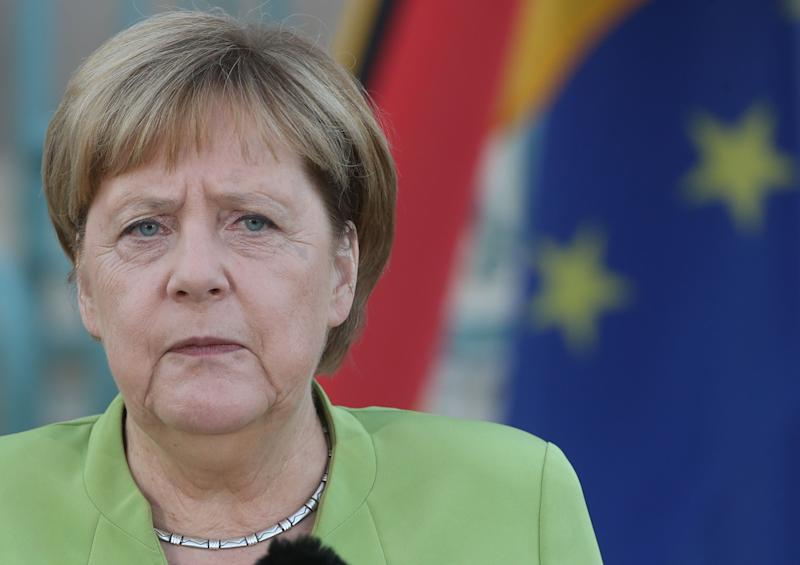 Germany's Merkel says she has 'grave doubts' about the incoming world order