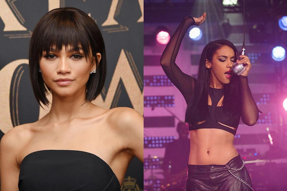 """<p>Zendaya was cast as the late R&B star in a Lifetime biopic, but after <a href=""""http://www.nydailynews.com/entertainment/tv/zendaya-responds-critics-aaliyah-biopic-casting-article-1.1834188"""" rel=""""nofollow noopener"""" target=""""_blank"""" data-ylk=""""slk:backlash ensued"""" class=""""link rapid-noclick-resp"""">backlash ensued</a>, Zendaya pulled out of the TV movie. """"The reason why I chose not to do the Aaliyah movie had nothing to do with the haters or people telling me that I couldn't do it, I wasn't talented enough, or I wasn't black enough,"""" she <a href=""""https://www.usmagazine.com/entertainment/news/zendaya-coleman-explains-exit-from-aaliyah-biopic-2014217/"""" rel=""""nofollow noopener"""" target=""""_blank"""" data-ylk=""""slk:explained in an Instagram video"""" class=""""link rapid-noclick-resp"""">explained in an Instagram video</a>. """"The main reasons were the production value wasn't there, there were complications with the music rights, and I just felt like it wasn't being handled delicately considering the situation."""" She went on to add that she'd been unsuccessful in reaching out to Aaliyah's family, so she did not feel """"morally okay"""" doing the movie. She was replaced by Alexandra Shipp, who went on to appear in <em>Straight Outta Compton </em>and <em>X-Men: Apocalypse</em>.</p>"""