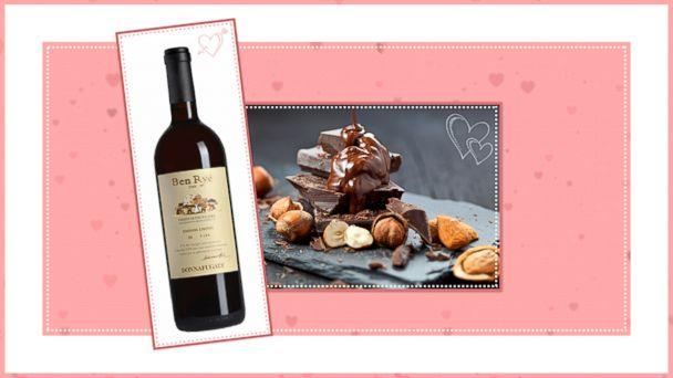 PHOTO: Chocolate and Wine Pairings for Valentines Day: Pair 4 (ABC News Photo Illustration)