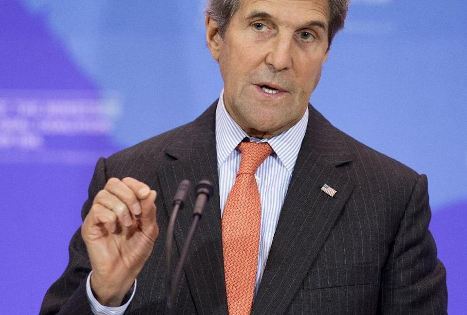 Among the 40 ministers expected at the high-level meeting on greenhouse gases in Rwanda is US Secretary of State John Kerry (AFP Photo/Saul Loeb)