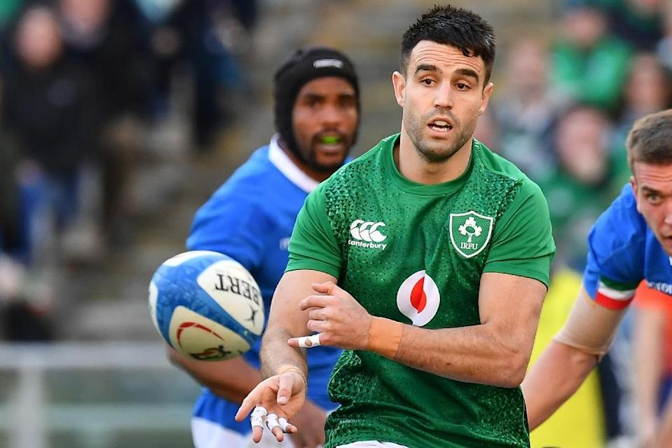 Ireland's out of sorts scrum-half Conor Murray needs to improve for the crunch France game (AFP Photo/Vincenzo PINTO )