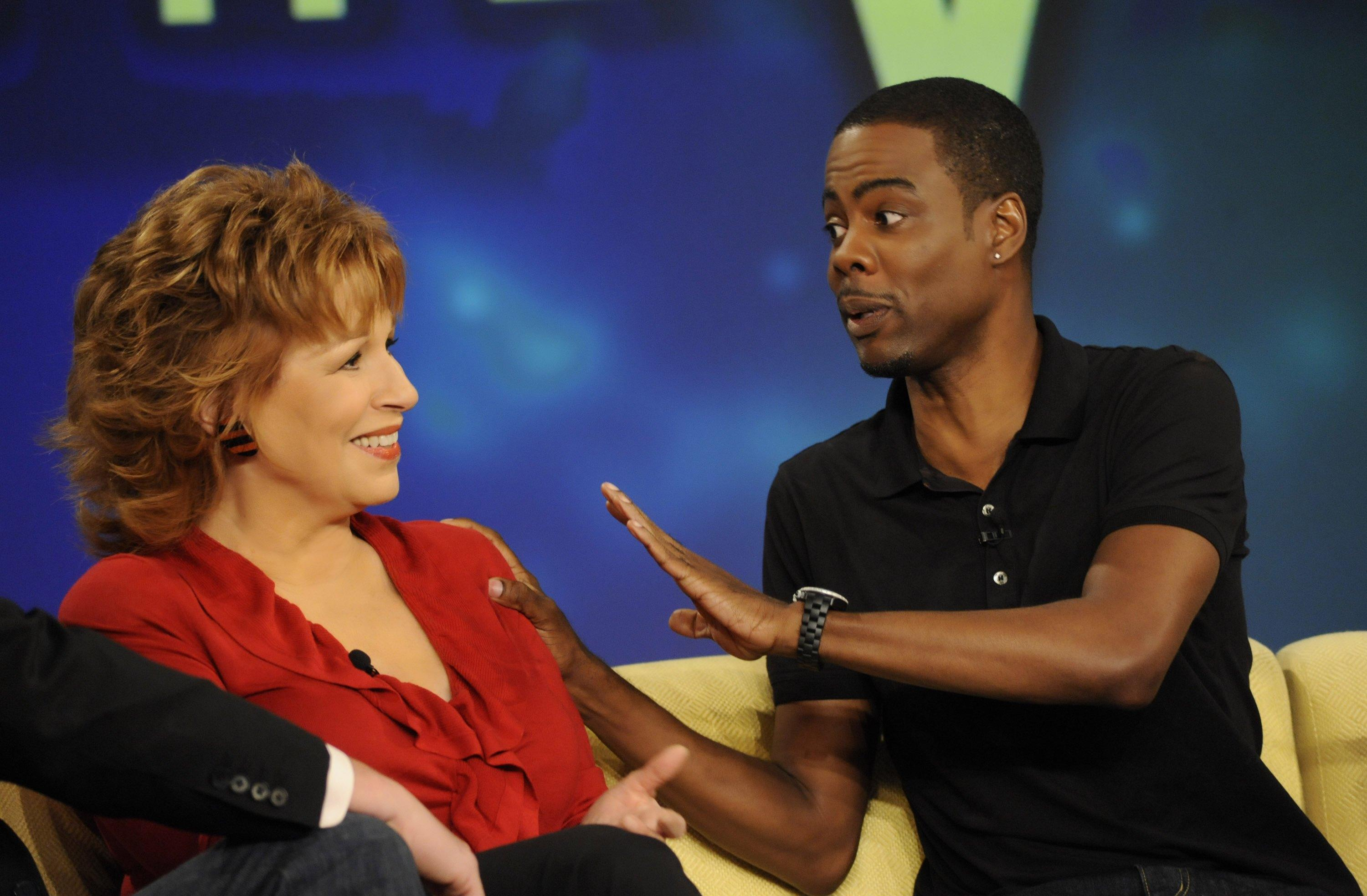 "Chris Rock says ""View"" co-host Joy Behar may have known something was ""off"" about him, even before he was diagnosed. (Photo: Getty Images)"