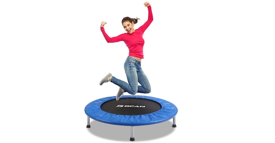 BCAN Foldable Mini Trampoline (Photo: Amazon)