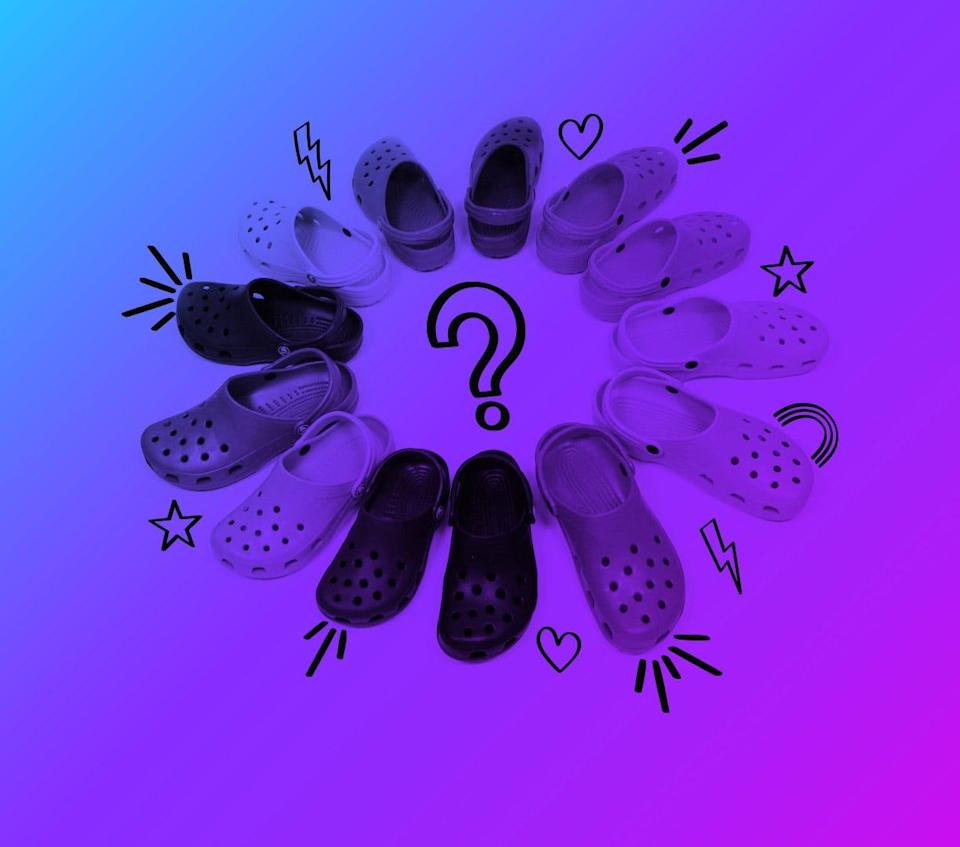 Crocs are everywhere this summer. The foam clog footwear went from embarrassingly uncool to totally trendy.