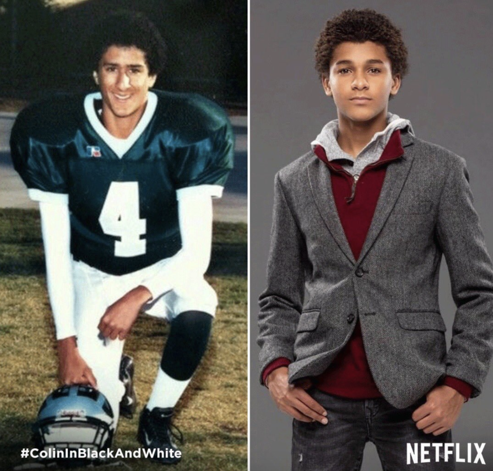 Jaden Michael lands role of Colin Kaepernick in Ava DuVernay's Colin in Black & White Netflix series. (Screenshot: Colin Kaepernick via Instagram)