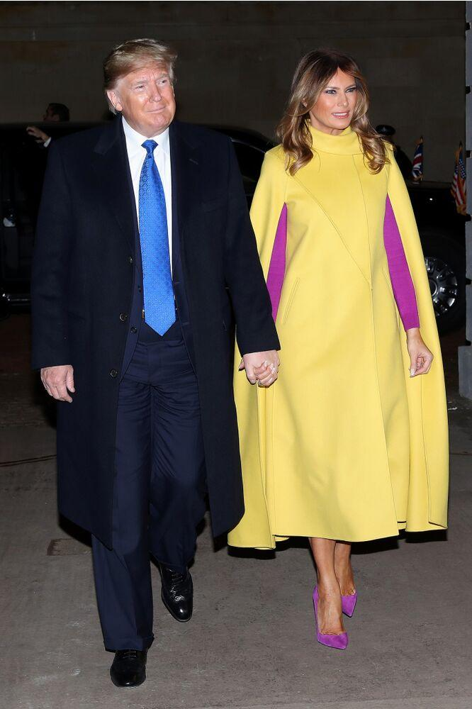President Donald Trump and First Lady Melania Trump in England in December. | Chris Jackson - WPA Pool/Getty