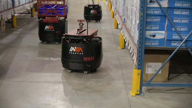 Warehouse robots might just make tedious jobs a thing of the past