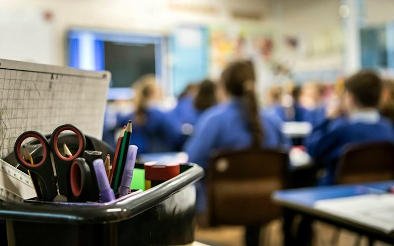 More than a third of girls say they have been sexually harassed at school - PA