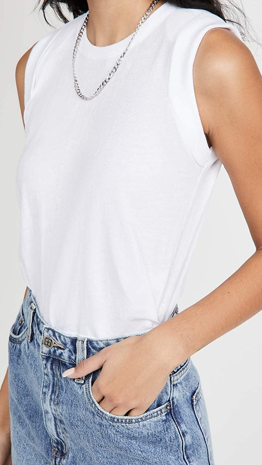 <p>Lazy days will be spent in this <span>Chaser Cloud Cropped Muscle Tank</span> ($47, originally $59).</p>