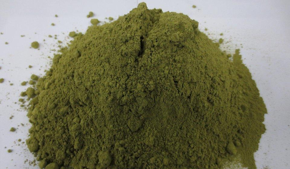 The kratom was shipped in powder form. Photo: Handout