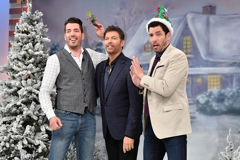 Watch The Property Brothers Accept Harry Connick Jr As