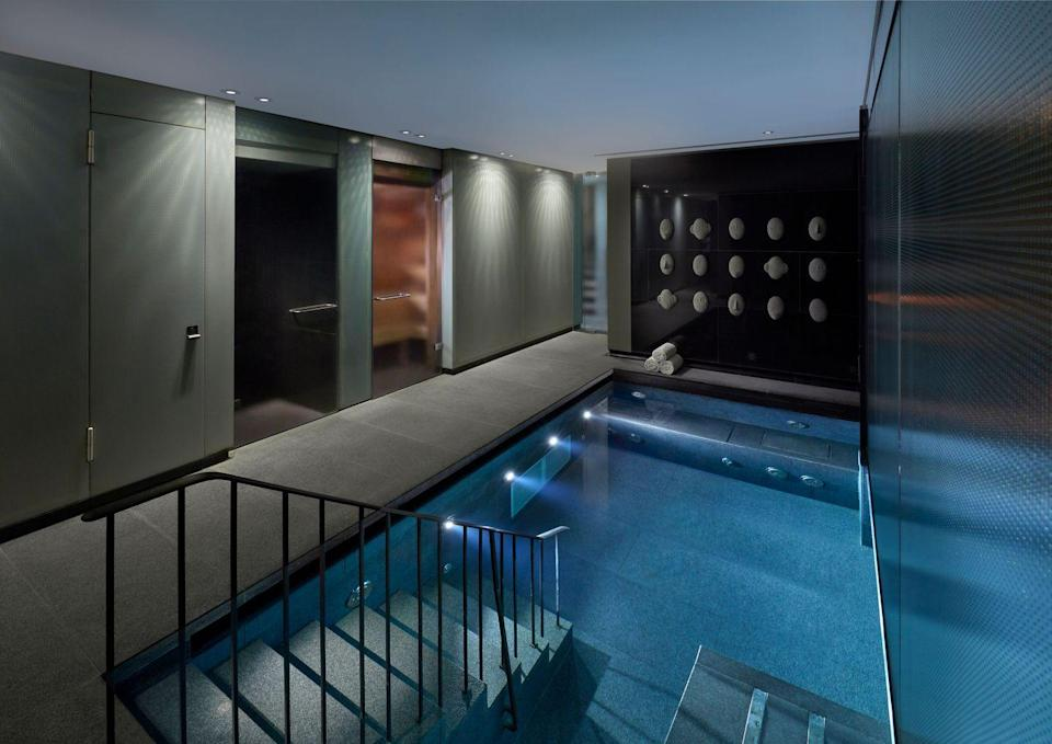"""<p>From the moment you enter the <a href=""""https://go.redirectingat.com?id=127X1599956&url=https%3A%2F%2Fwww.booking.com%2Fhotel%2Fgb%2Fmandarin-oriental-hyde-park-london.en-gb.html%3Faid%3D1922306%26label%3Dspa-hotels-london&sref=https%3A%2F%2Fwww.goodhousekeeping.com%2Fuk%2Flifestyle%2Ftravel%2Fg37472138%2Fspa-hotel-london%2F"""" rel=""""nofollow noopener"""" target=""""_blank"""" data-ylk=""""slk:Mandarin Oriental Hyde Park"""" class=""""link rapid-noclick-resp"""">Mandarin Oriental Hyde Park</a>'s indulgent spa, you'll feel your stresses melt away as the friendly staff ask you to take a seat in the peaceful reception, before you're escorted downstairs to get comfortable in a fluffy robe and spend time exploring the wellness spaces until your treatment begins. The spa has separated male and female heat and water facilities, including an Amethyst Crystal Steam Room, Sanarium and Zen Colour Therapy Relaxation Room.</p><p>The highlight is the Vitality Pool, with its multiple hydrotherapy jets that target everything - from your back to the soles of your feet. When the time comes for your treatment a female therapist will collect you for your facial or massage. The Oskia Revitalising Facial is highly recommended for an hour of sculpting, anti-ageing and lifting, using LED light and massage techniques to leave you glowing.</p><p><a class=""""link rapid-noclick-resp"""" href=""""https://go.redirectingat.com?id=127X1599956&url=https%3A%2F%2Fwww.booking.com%2Fhotel%2Fgb%2Fmandarin-oriental-hyde-park-london.en-gb.html%3Faid%3D1922306%26label%3Dspa-hotels-london&sref=https%3A%2F%2Fwww.goodhousekeeping.com%2Fuk%2Flifestyle%2Ftravel%2Fg37472138%2Fspa-hotel-london%2F"""" rel=""""nofollow noopener"""" target=""""_blank"""" data-ylk=""""slk:CHECK AVAILABILITY"""">CHECK AVAILABILITY</a></p>"""