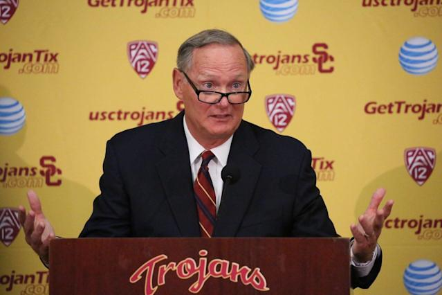 Pat Haden served as USC's athletic director from 2010-16. (Getty Images)