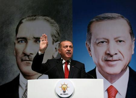 Turkey's Erdogan stands by opposition to high interest rates