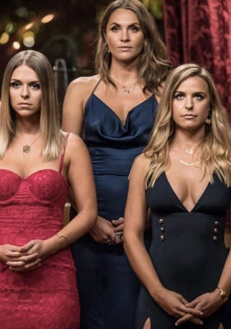 Elise Stacy, Tara Pavlovic and Laura Byrne are all vying to win Matty J's heart. Source: Channel 10