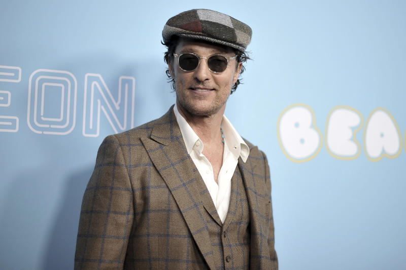 Matthew McConaughey Unveils A Dark Secret In New Book 'Greenlights'
