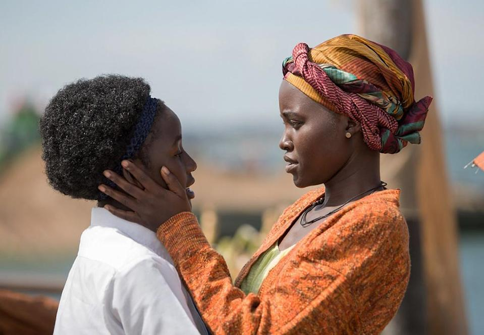 <p>For the first time since she won a Best Supporting Actress Oscar for 2014's '12 Years a Slave,' Nyong'o finds a role worthy of her talents as a widowed East African mother struggling to care for her brood, including her chess-prodigy daughter. (Photo: Disney) </p>