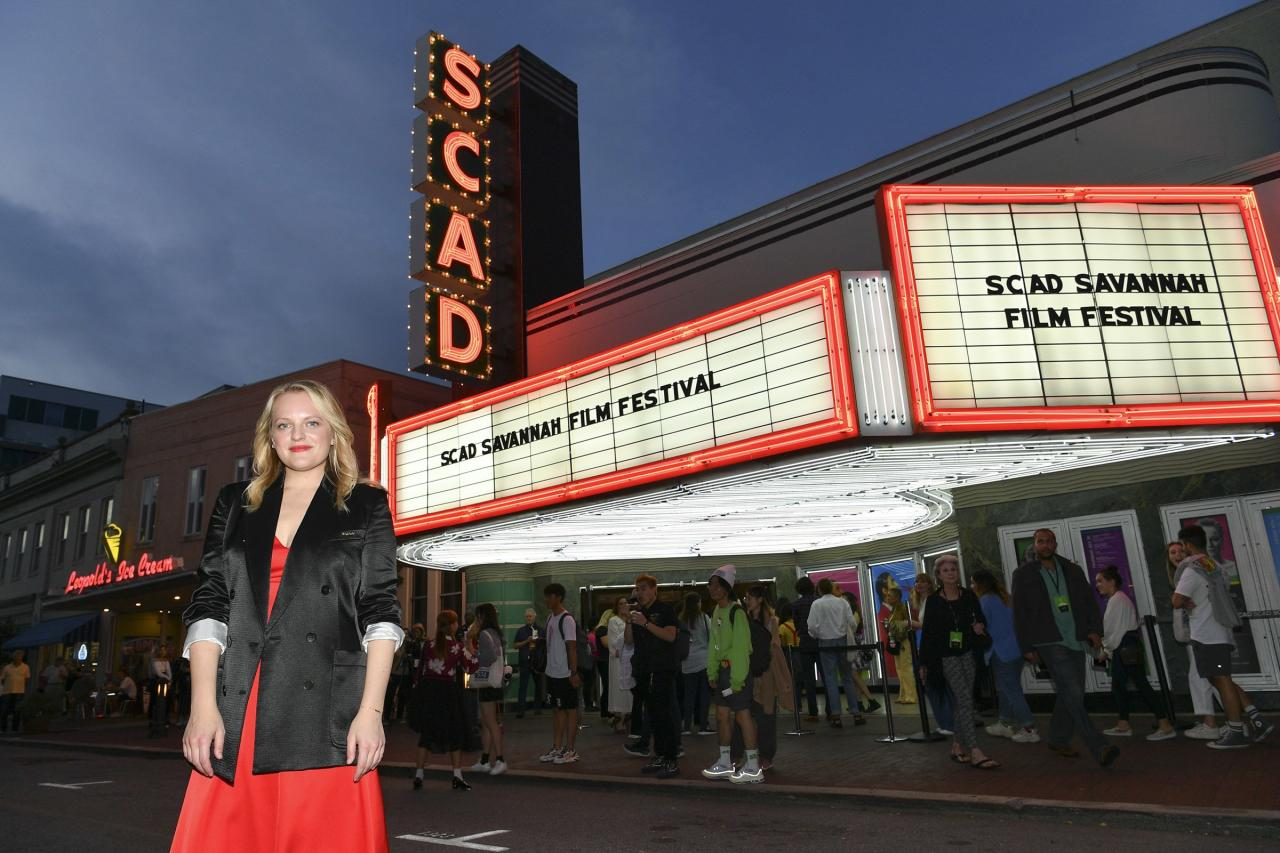Elisabeth Moss is one of many stars who headed to Georgia for the 22nd annual SCAD Savannah Film Festival, which honors both professional and student filmmakers. See who else was on hand to take part in the special panels and other events taking place in the Hostess City of the South.