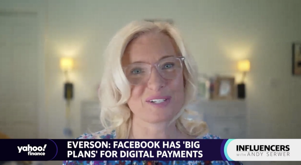 Carolyn Everson, vice president of Facebook's global business group, speaks with Yahoo Finance Editor-in-Chief Andy Serwer on