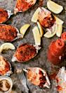 """<p><strong>Recipe:</strong> <a href=""""https://www.southernliving.com/recipes/deviled-crab"""" rel=""""nofollow noopener"""" target=""""_blank"""" data-ylk=""""slk:Deviled Crab"""" class=""""link rapid-noclick-resp"""">Deviled Crab</a></p> <p>Your guests will be so impressed by the presentation and daintiness of this Deviled Crab recipe that they won't believe it only took you a few minutes to whip up.</p>"""