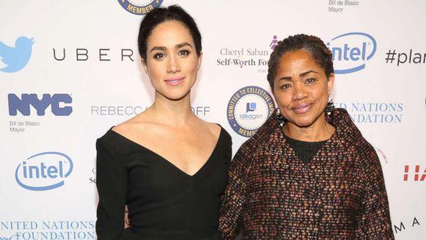 PHOTO: Meghan Markle and Doria Ragland attend UN Women's 20th Anniversary of the Fourth World Conference of Women in Beijing, March 10, 2015 in New York City. (Patrick McMullan via Getty Images)