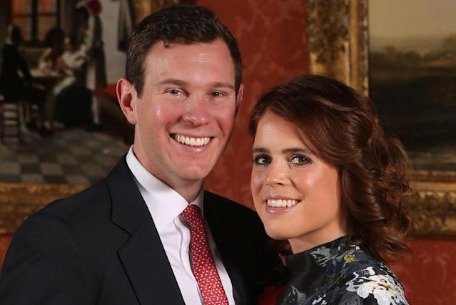 Princess Eugenie and Jack Brooksbank are inviting 1,200 members of the public to their upcoming nuptials. (Photo: Getty Images)