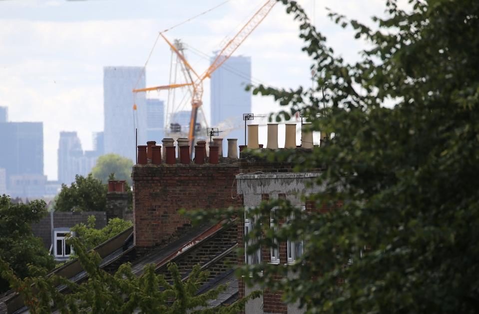 The UK property boom has boosted construction. Photo: PA
