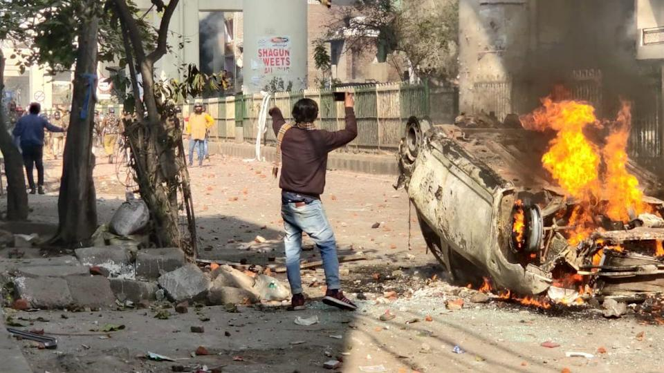 Violence which began in Jaffrabad-Maujpur on Sunday spread across the North East Delhi district on Monday, 24 February.