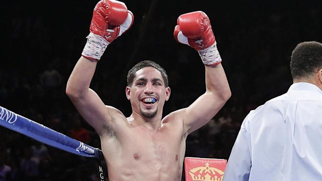 Boxer Danny Garcia, the reigning WBC, WBA (Super), and Ring Magazine champion in the light welterweight class, talks to WSJ's Lee Hawkins about his rising income, his chances of fighting Floyd Mayweather, and the likelihood of Mayweather fighting rival Manny Pacquiao. This is an excerpt of a longer interview. Photo: Getty Images