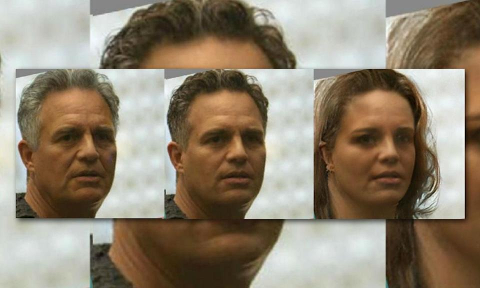<p>Bruce Banner as a lady looks like he may sell Avon make-up in the '90s. </p>