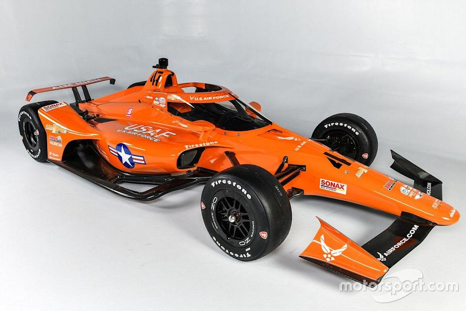 """Conor Daly's Ed Carpenter Racing-Chevrolet colors for 104th running of the Indianapolis 500. <span class=""""copyright"""">Ed Carpenter Racing</span>"""