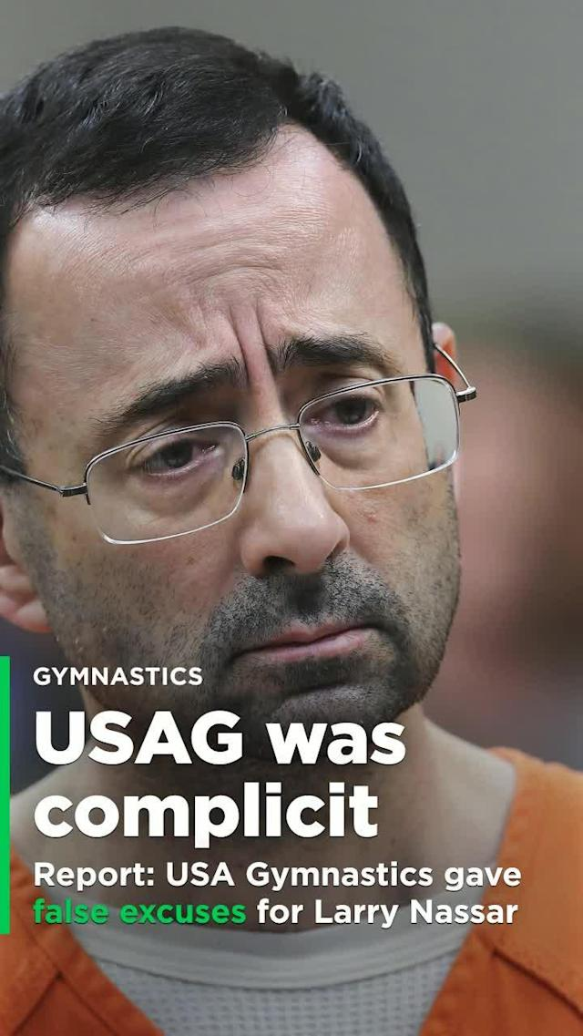 Documents obtained by the Indianapolis Star have painted a troubling picture of USA Gymnastics' complicity in aiding disgraced former team doctor Larry Nassar, guilty of staggering sexual misconduct with young gymnasts.