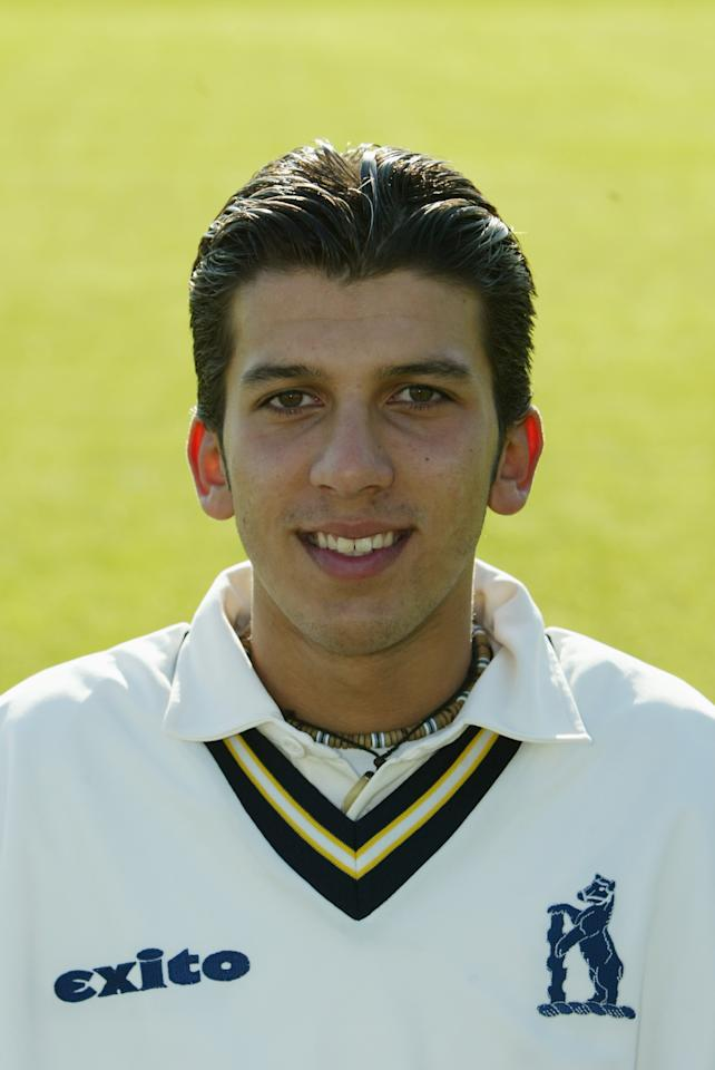 BIRMINGHAM - APRIL 13:  A Portrait of Moeen Ali of Warwickshire taken during the Warwickshire County Cricket Club photocall held on April 13, 2004 at Edgbaston in Birmingham, England. (Photo by Stu Forster/Getty Images)