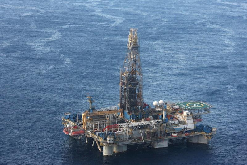US firm Noble Energy discovered gas in the Aprhodite field off the coast of Cyprus in 2011 (AFP Photo/CHRISTOS AVRAAMIDES)