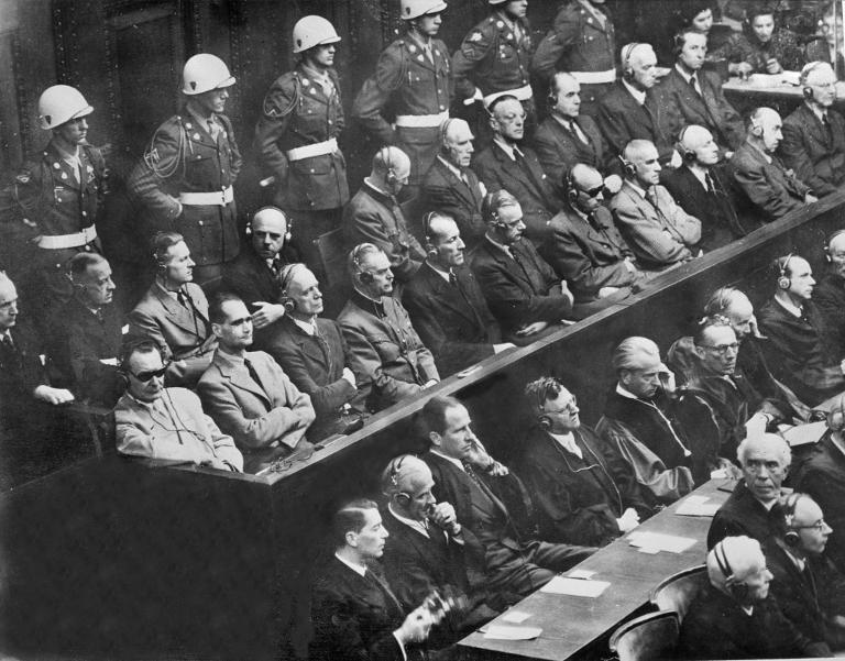 Final reckoning: On the last day of the Nuremberg trials in August 1946, the 21 accused made their final speeches from the dock