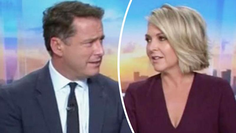 Viewers to 'boycott' Today after Karl ousts 'disappointed' Georgie Gardiner. Photo: Channel Nine.