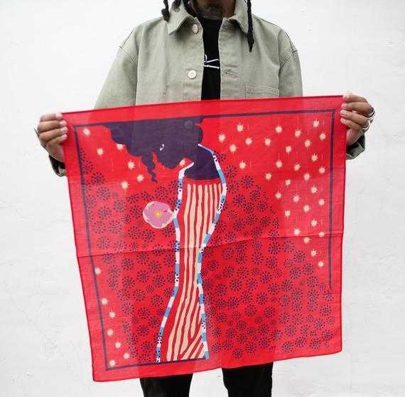 """<h2>100% Cotton Bandana </h2> <br>Readers couldn't get enough of this top-bought beauty designed by D.C.-based artist <a href=""""https://www.refinery29.com/en-us/support-black-owned-etsy-shops#slide-3"""" rel=""""nofollow noopener"""" target=""""_blank"""" data-ylk=""""slk:Ama Schulman — whose shop, All Very Goods, is featured on Etsy"""" class=""""link rapid-noclick-resp"""">Ama Schulman — whose shop, All Very Goods, is featured on Etsy</a> — using the good as not only a breathable face mask but also a tie-on summer accessory for everything from hair to wrists and handbags. Schulman describes her work as a modern take on the traditional bandana — with this 100%-cotton design serving as a reflection of, """"self care, carving out a space for yourself and being comfortable in your own skin.""""<br><br><em>Shop <strong><a href=""""https://www.etsy.com/shop/AllVeryGoods"""" rel=""""nofollow noopener"""" target=""""_blank"""" data-ylk=""""slk:AllVeryGoods"""" class=""""link rapid-noclick-resp"""">AllVeryGoods</a></strong></em><br><br><strong>AllVeryGoods</strong> No. 19 Me Time Bandana, $, available at <a href=""""https://go.skimresources.com/?id=30283X879131&url=https%3A%2F%2Fwww.etsy.com%2Flisting%2F744675677%2Fno-19-me-time-bandana-red"""" rel=""""nofollow noopener"""" target=""""_blank"""" data-ylk=""""slk:Etsy"""" class=""""link rapid-noclick-resp"""">Etsy</a><br><br><br>"""
