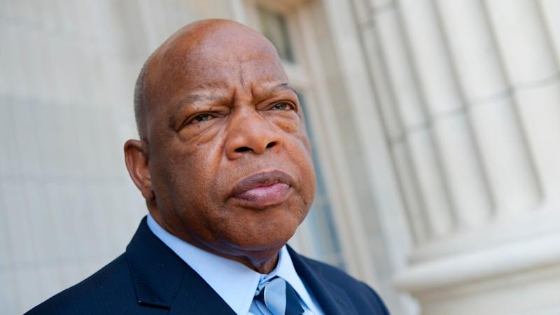 Late civil rights icon John Lewis named Week 1 honorary captain for Falcons