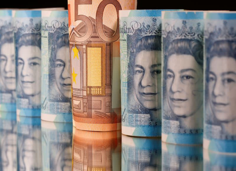Sterling rises above $1.26; recovers from 20-day low vs stronger euro