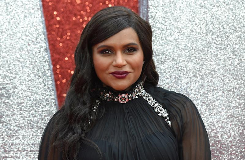 "Mindy Kaling attends the European premiere of the film ""Ocean's 8"" in London in June."