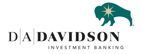 D.A. Davidson Investment Banking Announces 2020 Summer Interns From Across U.S.