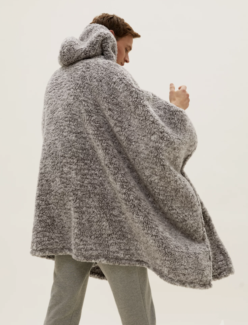 It even comes with a hood so you can be extra snuggly. (Marks & Spencer)