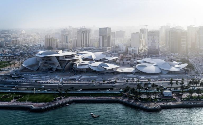 The new National Museum of Qatar, which was designed by French architect Jean Nouvel, features a multi-curved roof which resembles a jigsaw puzzle