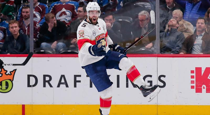 Aaron Ekblad has high hopes for the Florida Panthers in 2019-20. (Isaiah J. Downing-USA TODAY Sports)