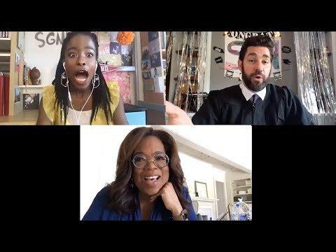 """<p>Graduating from high school or college looks a lot different this year. With in-person ceremonies cancelled, people are getting creative with commencement addresses. Oprah Winfrey and Steven Spielberg surprised grads on a recent episode of John Krasinski's <a href=""""https://www.youtube.com/channel/UCOe_y6KKvS3PdIfb9q9pGug"""" rel=""""nofollow noopener"""" target=""""_blank"""" data-ylk=""""slk:Some Good News YouTube channel"""" class=""""link rapid-noclick-resp"""">Some Good News YouTube channel</a>. </p><p>And <a href=""""https://www.elle.com/culture/career-politics/a32377592/barack-michelle-obama-2020-commencement-address-youtube/"""" rel=""""nofollow noopener"""" target=""""_blank"""" data-ylk=""""slk:virtual class of 2020 specials"""" class=""""link rapid-noclick-resp"""">virtual class of 2020 specials</a> are planned with speakers including Barack and Michelle Obama, Lady Gaga, BTS, LeBron James, and Megan Rapinoe over the next two months. </p><p><a href=""""https://youtu.be/IweS2CPSnbI"""" rel=""""nofollow noopener"""" target=""""_blank"""" data-ylk=""""slk:See the original post on Youtube"""" class=""""link rapid-noclick-resp"""">See the original post on Youtube</a></p>"""
